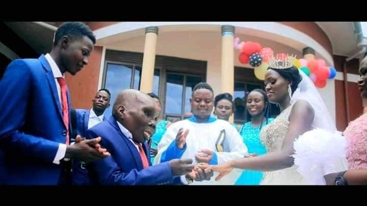Uganda's Ugliest Man, Popular Comedian, Ssebabi Marries Second Wife