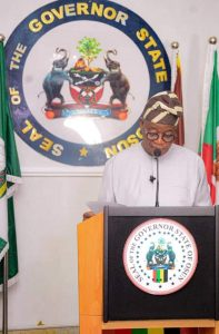 Governor Oyetola Approves Implementation of the New Minimum Wage For Osun Workers from October 1