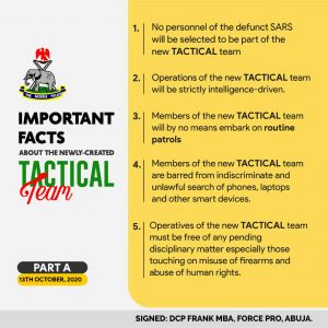 What you should know about SWAT NIGERIA
