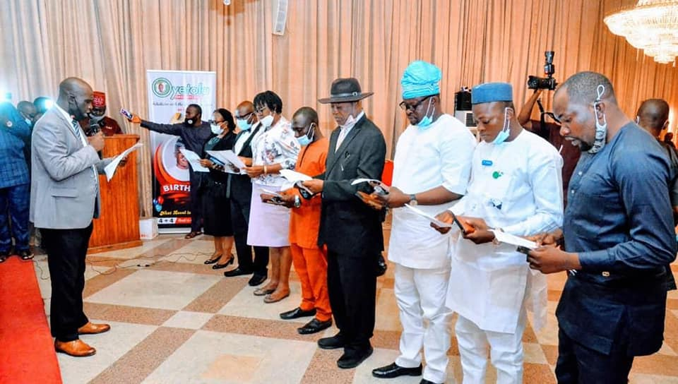 #ENDSARS: Governor Oyetola Inaugurates Judiciary Panel of Enquiry on Police Brutality